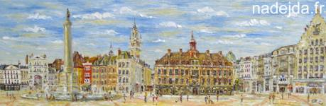 Grand Place - Lille (vendu)
